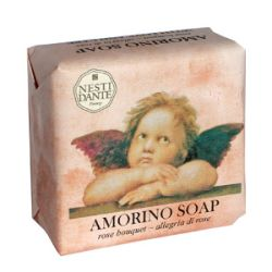 Мыло Букет роз серия Амур Нести Данте, AMORINO Rose bouquet Soap Nesti Dante, 150 гр.